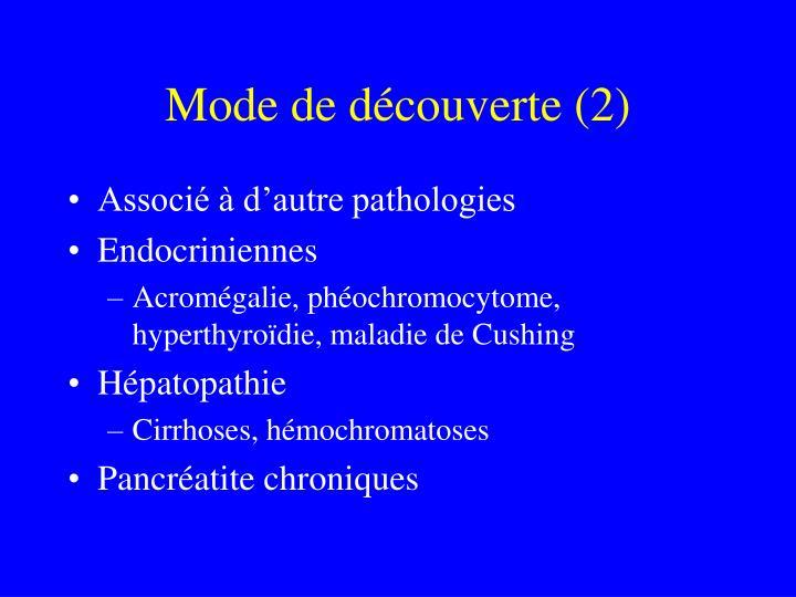 Mode de découverte (2)