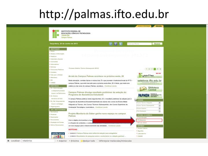 http://palmas.ifto.edu.br