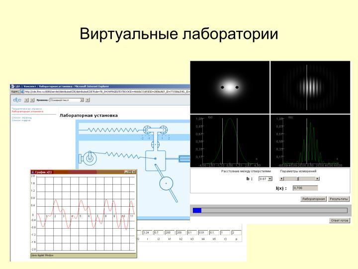 Виртуальные лаборатории
