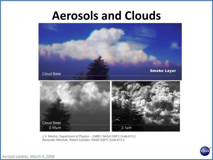 Aerosols and Clouds