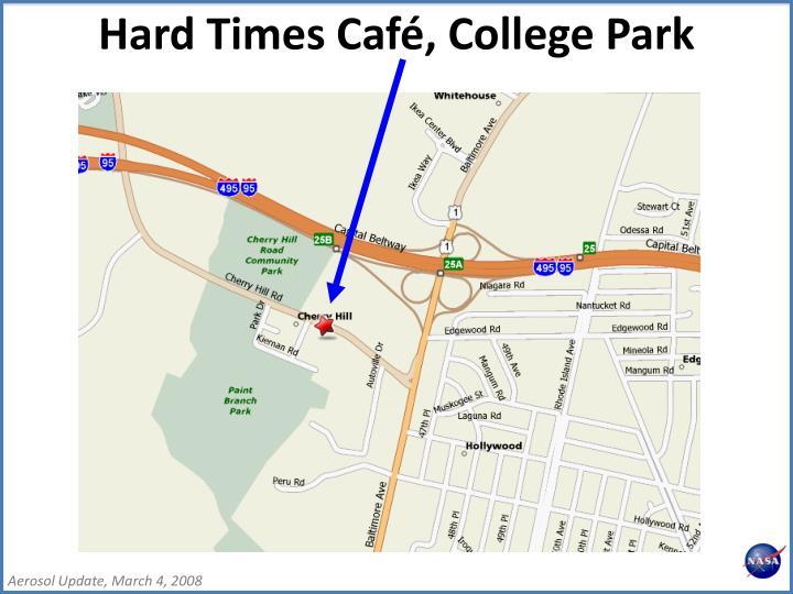 Hard Times Café, College Park