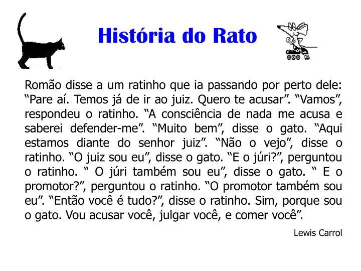História do Rato