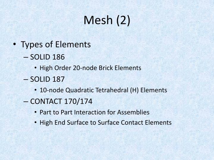 Mesh (2)