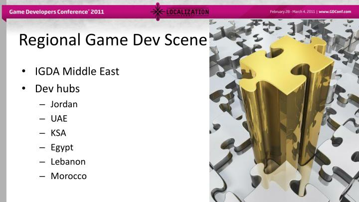 Regional Game Dev Scene