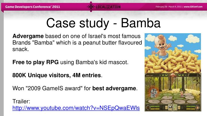 Case study - Bamba