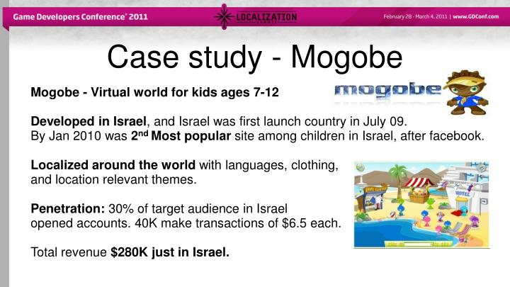 Case study - Mogobe