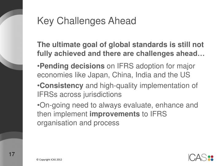 Key Challenges Ahead
