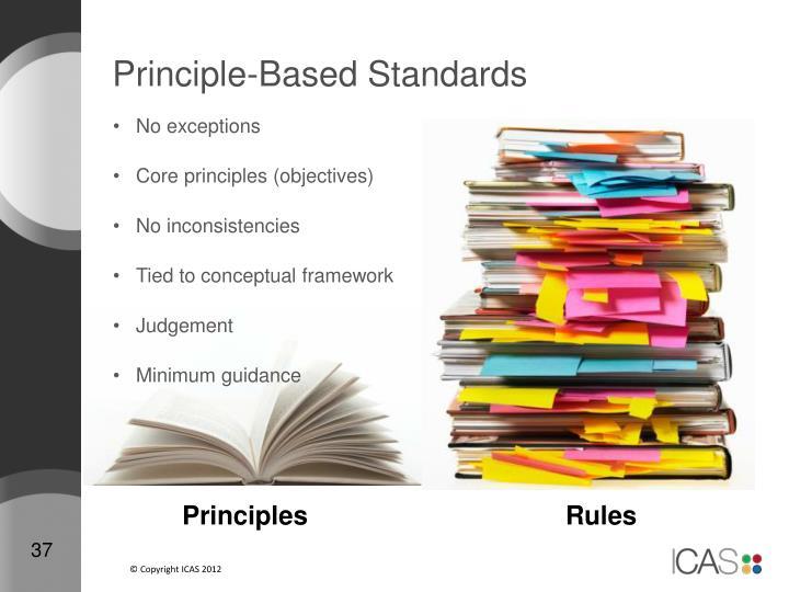 Principle-Based Standards