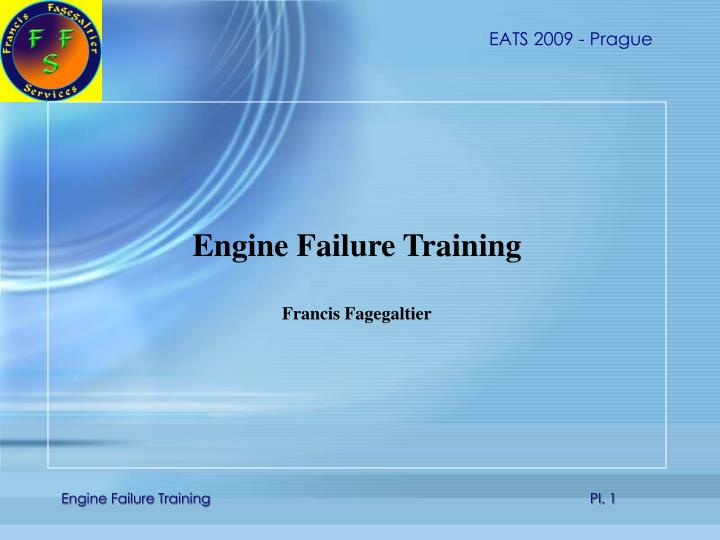 Engine Failure Training