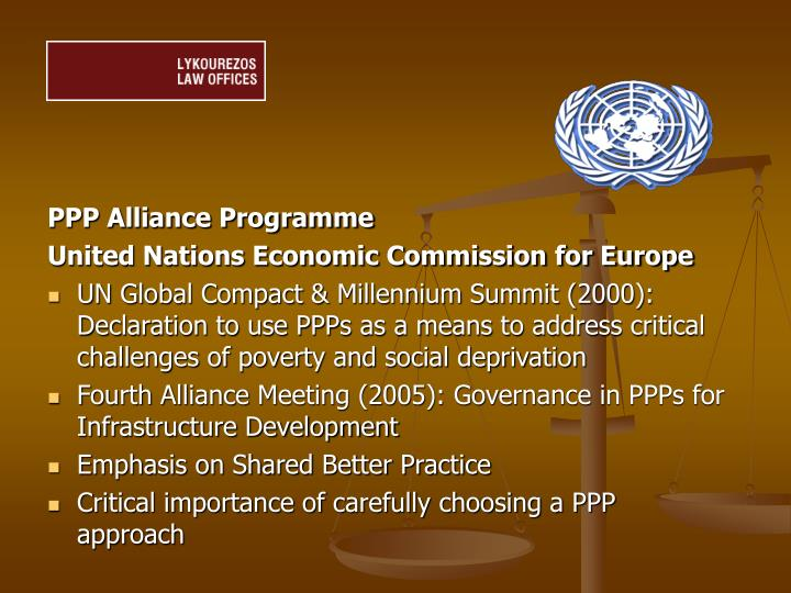PPP Alliance Programme