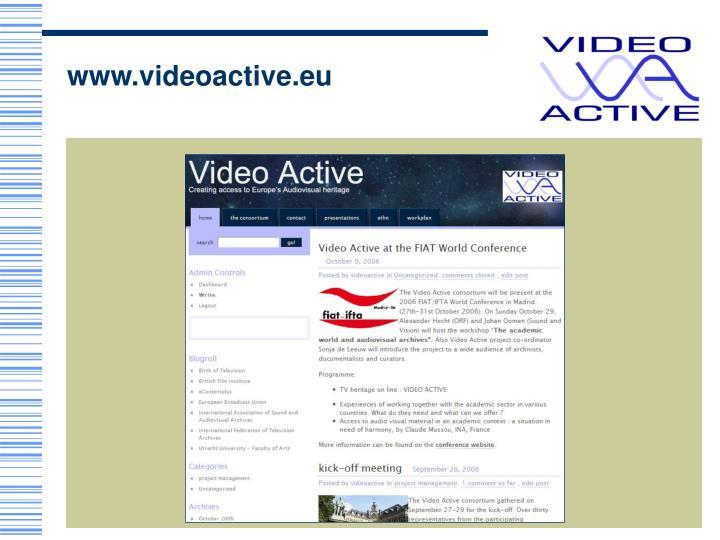www.videoactive.eu