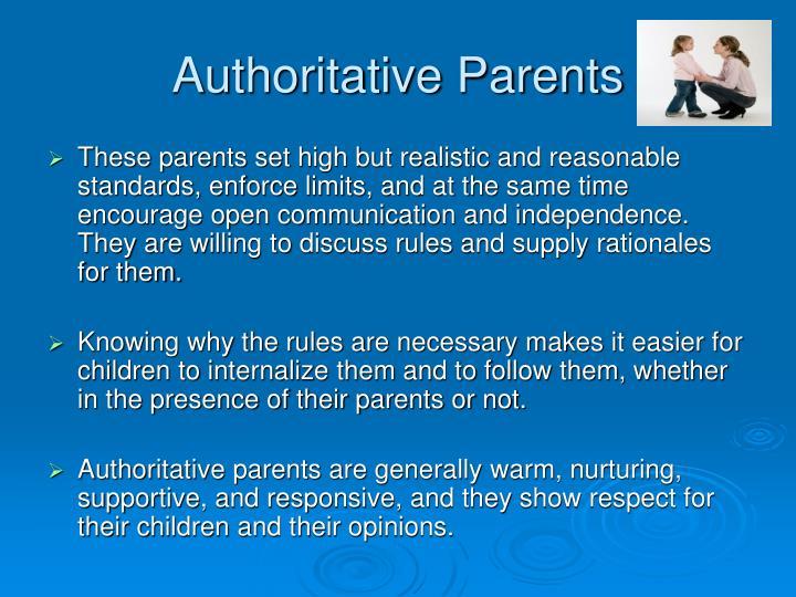 Authoritative Parents