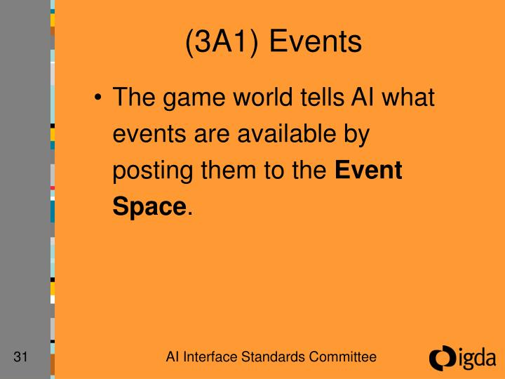 (3A1) Events
