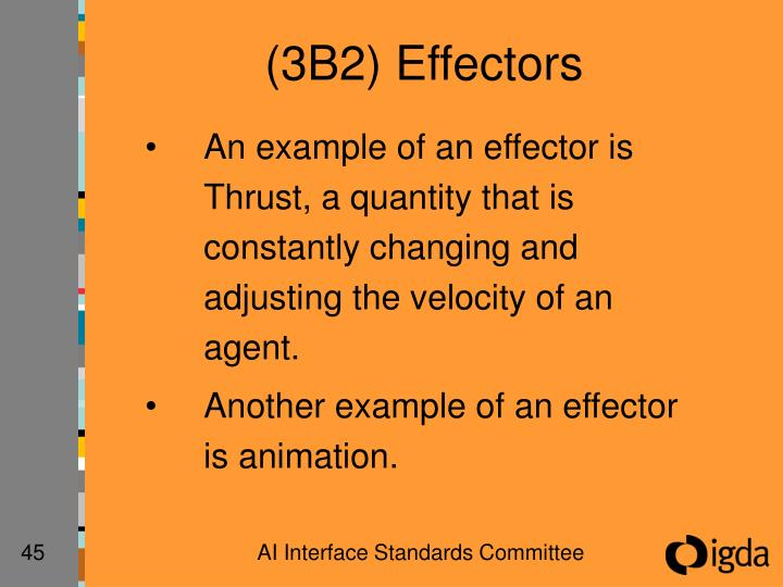 (3B2) Effectors