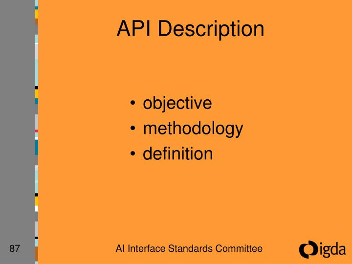API Description