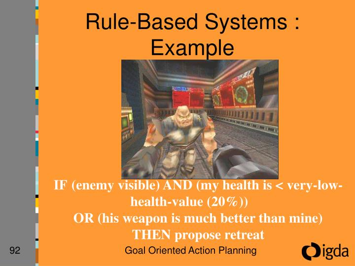 Rule-Based Systems : Example