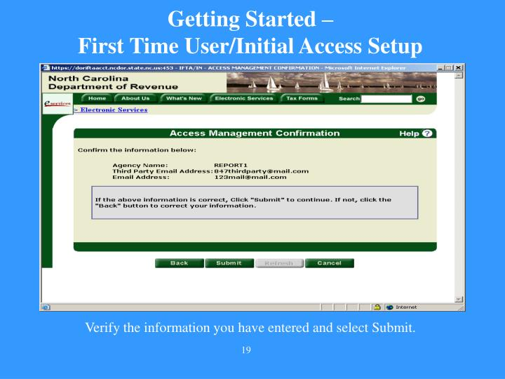 Getting Started –
