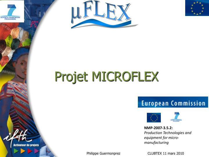 Projet MICROFLEX