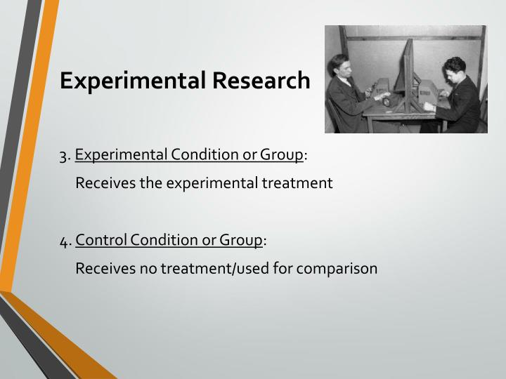 Experimental research2