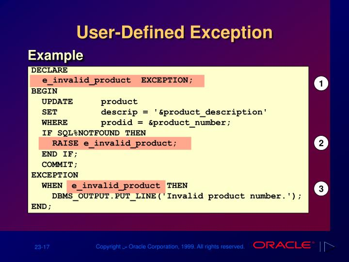 e_invalid_product  EXCEPTION;