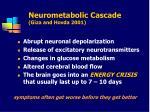 neurometabolic cascade giza and hovda 2001