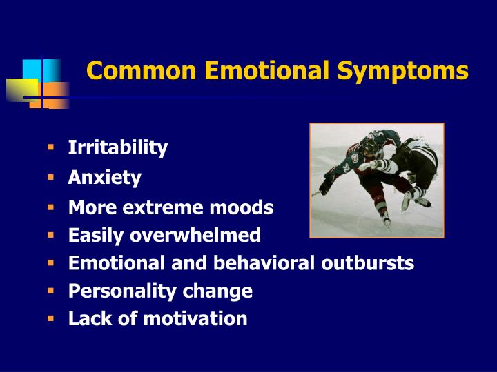 Common Emotional Symptoms