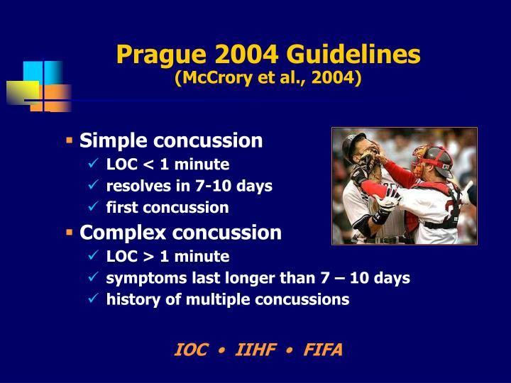 Prague 2004 Guidelines