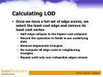 calculating lod3