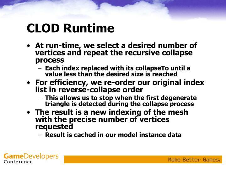 CLOD Runtime
