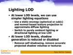lighting lod1