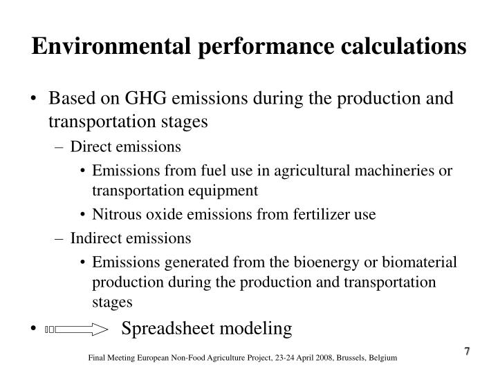 Based on GHG emissions during the production and transportation stages