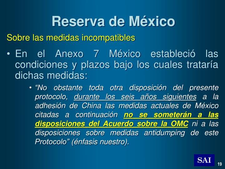 Reserva de México