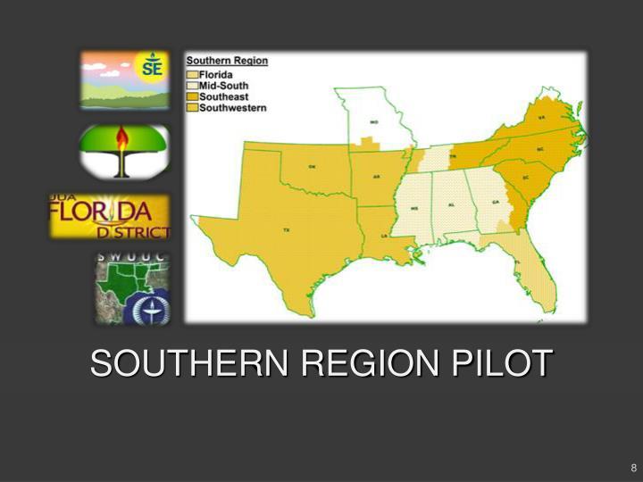 SOUTHERN REGION PILOT