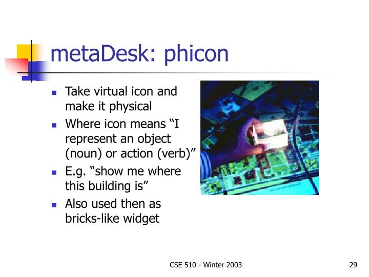metaDesk: phicon