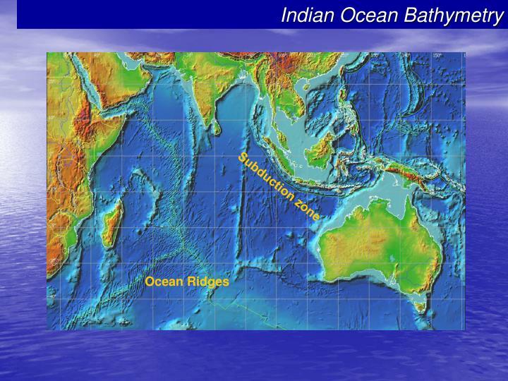 Indian Ocean Bathymetry