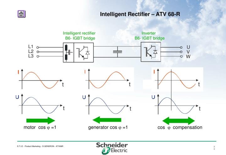 Intelligent rectifier