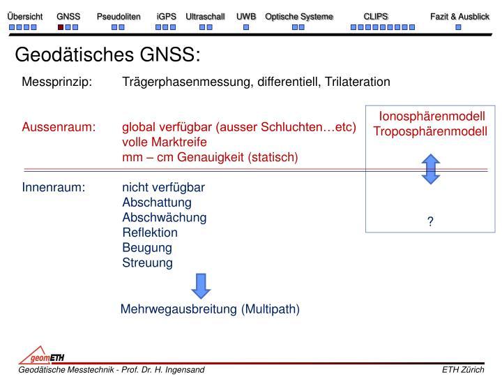 Geodätisches GNSS: