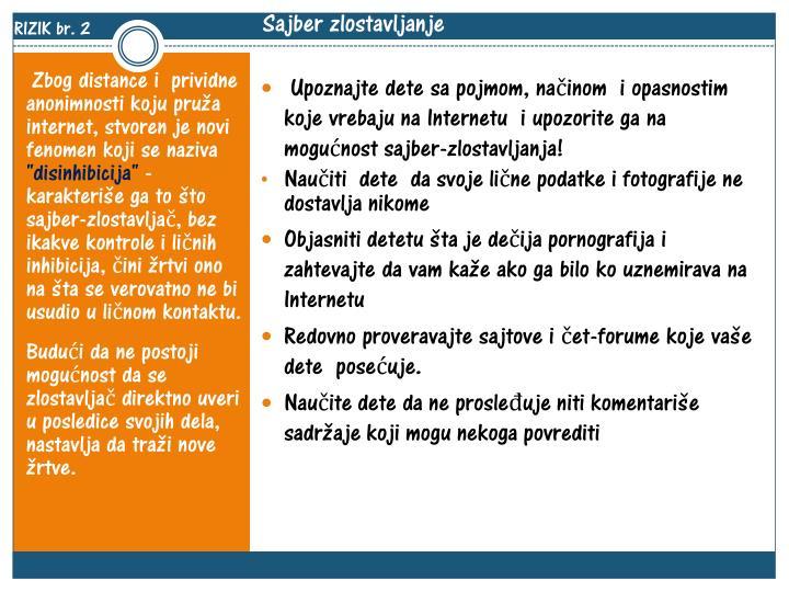 RIZIK br. 2