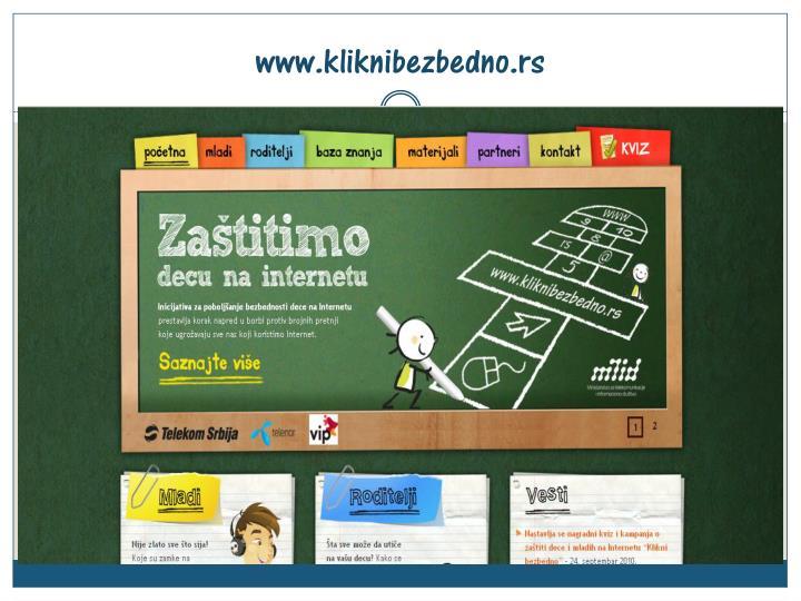 www.kliknibezbedno.rs