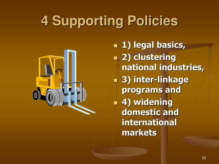 4 Supporting Policies