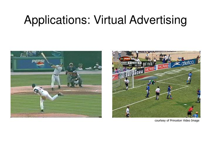 Applications: Virtual Advertising