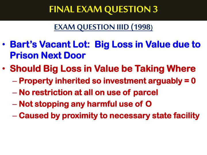 FINAL EXAM QUESTION 3
