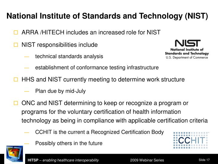 National Institute of Standards and Technology (NIST)
