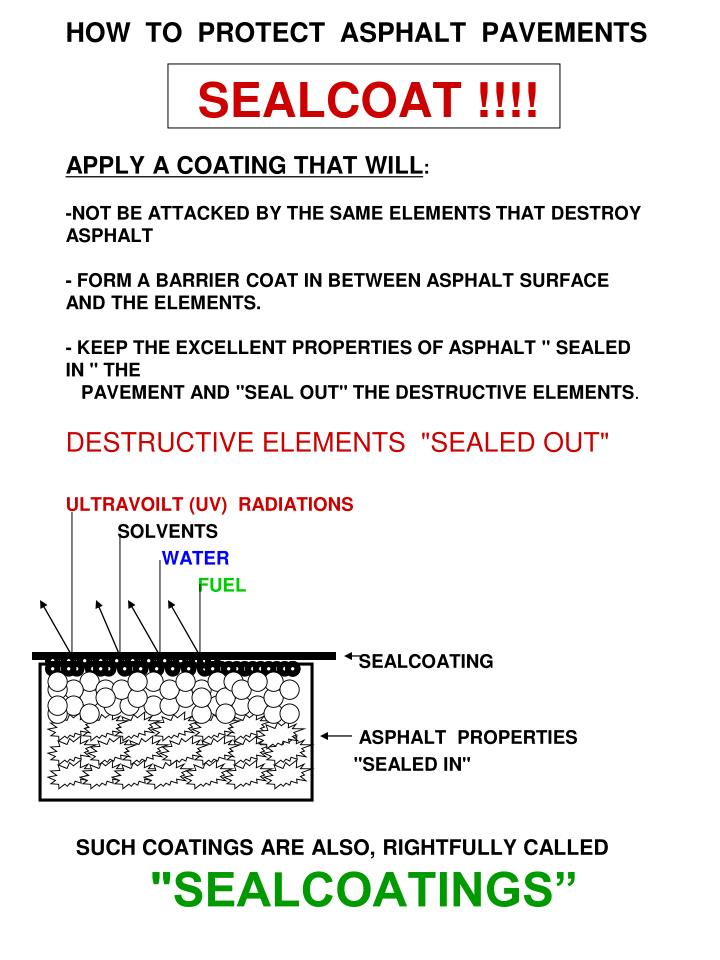HOW  TO  PROTECT  ASPHALT  PAVEMENTS