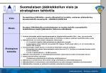 suomalaisen j kiekkoilun visio ja strateginen tahtotila