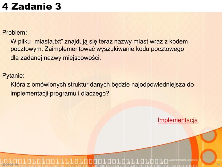 4 Zadanie 3