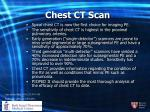 chest ct scan