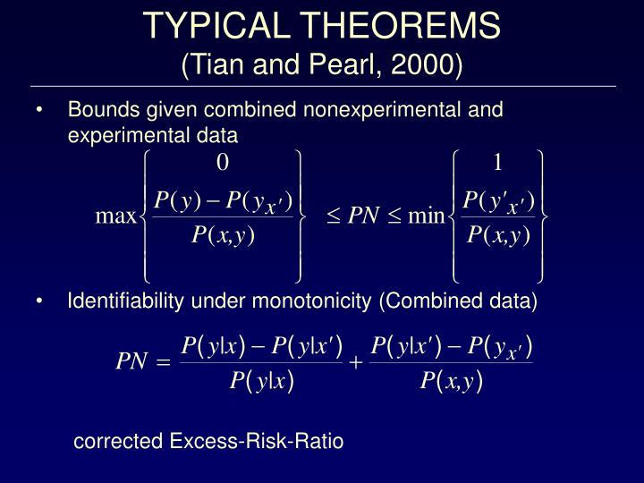 TYPICAL THEOREMS