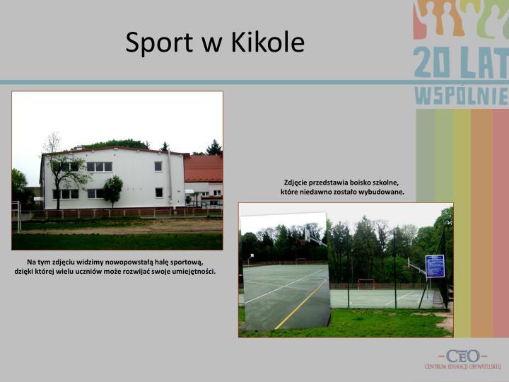 Sport w Kikole
