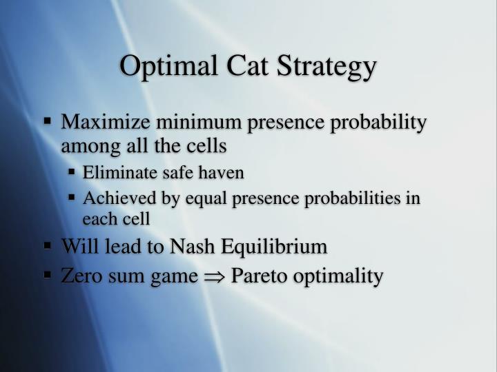 Optimal Cat Strategy